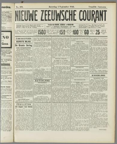 Nieuwe Zeeuwsche Courant 1916-09-02