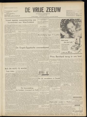de Vrije Zeeuw 1954-10-21