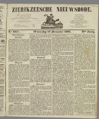 Zierikzeesche Nieuwsbode 1861-12-18