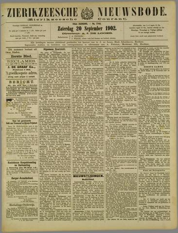 Zierikzeesche Nieuwsbode 1902-09-20