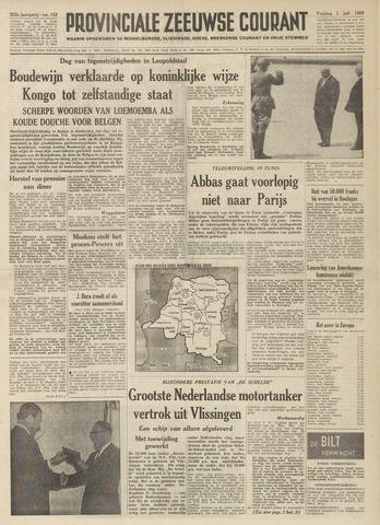 Provinciale Zeeuwse Courant 1960-07-01