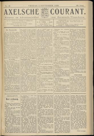 Axelsche Courant 1930-09-05