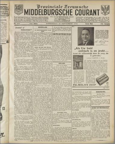 Middelburgsche Courant 1930-09-25