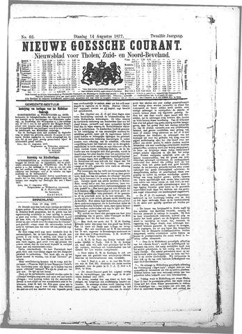 Nieuwe Goessche Courant 1877-08-14