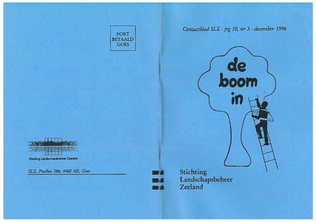 Landschapsbeheer Zeeland - de Boom in 1996-12-01