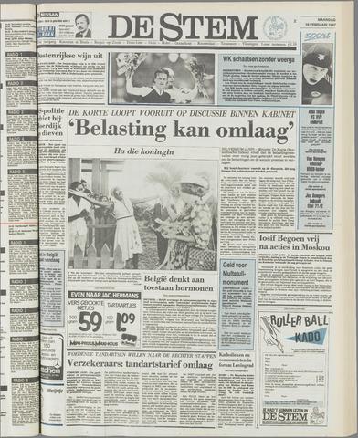 de Stem 1987-02-16