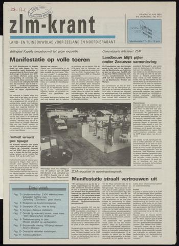 Zeeuwsch landbouwblad ... ZLM land- en tuinbouwblad 1993-06-18