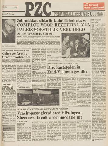 Provinciale Zeeuwse Courant 1975-04-02