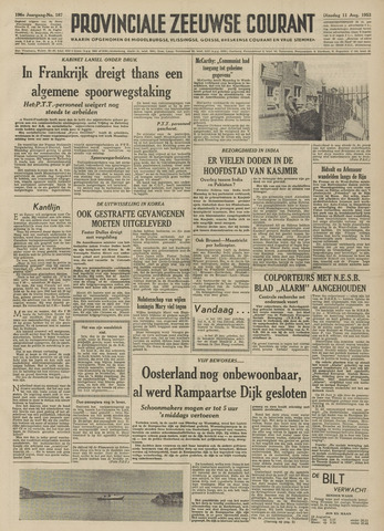 Provinciale Zeeuwse Courant 1953-08-11