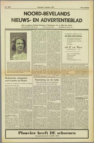Noord-Bevelands Nieuws- en advertentieblad 1961-08-05