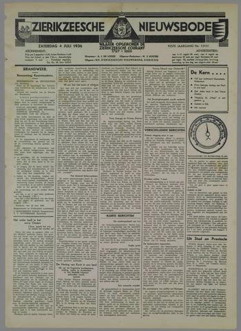 Zierikzeesche Nieuwsbode 1936-07-04