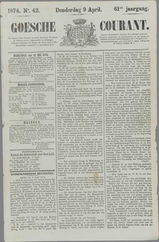 Goessche Courant 1874-04-09