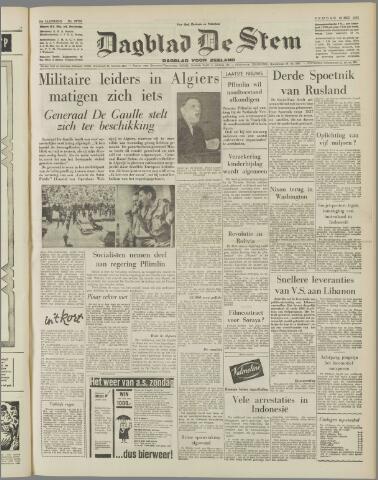 de Stem 1958-05-16