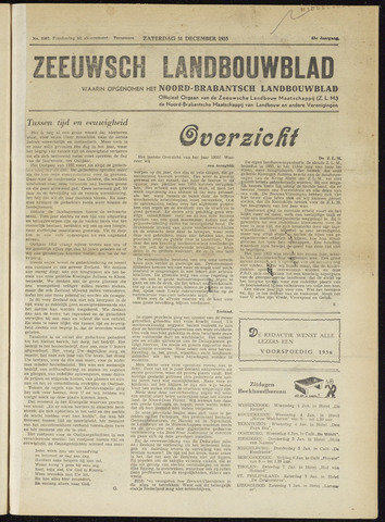 Zeeuwsch landbouwblad ... ZLM land- en tuinbouwblad 1955-12-31