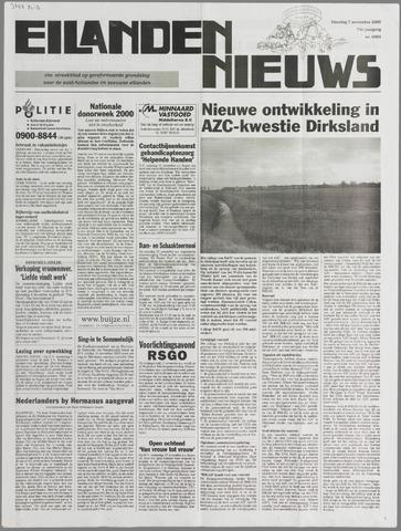 Eilanden-nieuws. Christelijk streekblad op gereformeerde grondslag 2000-11-07
