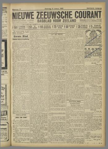 Nieuwe Zeeuwsche Courant 1922-01-21