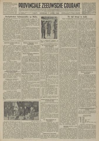 Provinciale Zeeuwse Courant 1942-04-07