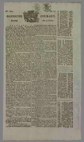 Goessche Courant 1820-10-23
