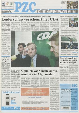 Provinciale Zeeuwse Courant 2001-10-01