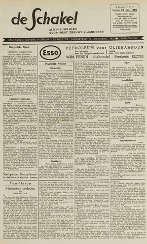 De Schakel 1958-01-24