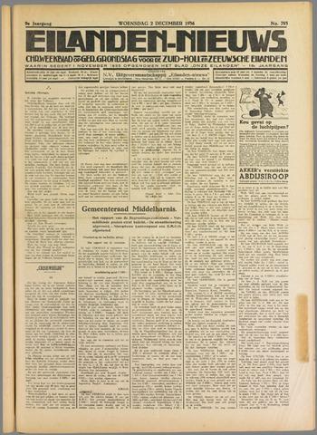 Eilanden-nieuws. Christelijk streekblad op gereformeerde grondslag 1936-12-02