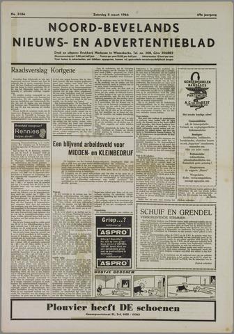 Noord-Bevelands Nieuws- en advertentieblad 1966-03-05