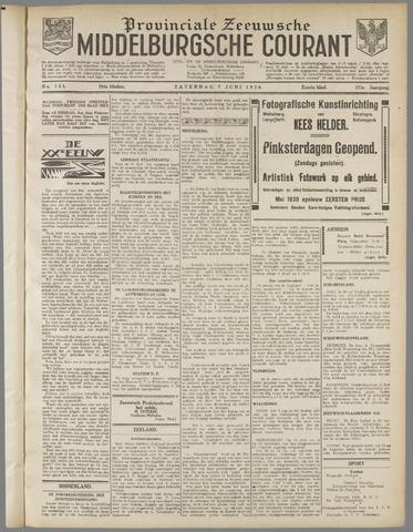 Middelburgsche Courant 1930-06-07