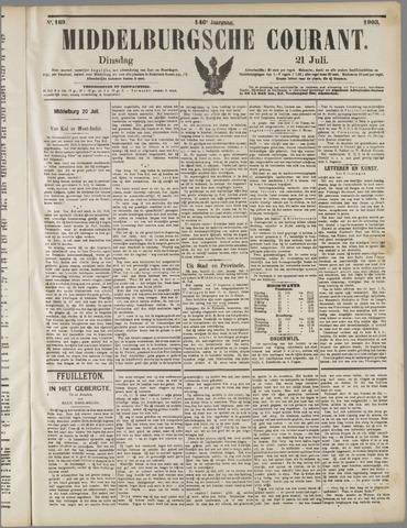 Middelburgsche Courant 1903-07-21