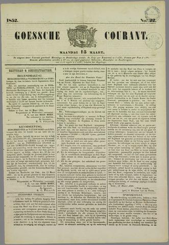 Goessche Courant 1852-03-15