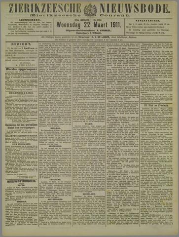 Zierikzeesche Nieuwsbode 1911-03-22