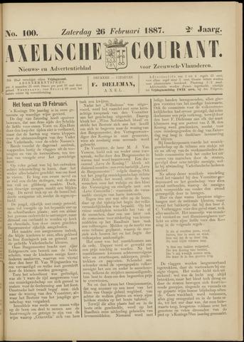 Axelsche Courant 1887-02-26