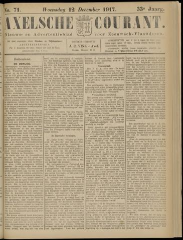 Axelsche Courant 1917-12-12