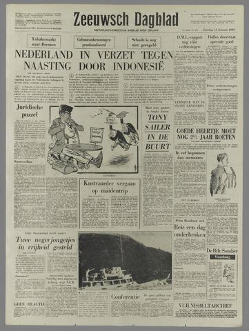 Zeeuwsch Dagblad 1959-02-14