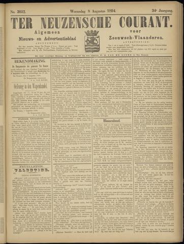 Ter Neuzensche Courant. Algemeen Nieuws- en Advertentieblad voor Zeeuwsch-Vlaanderen / Neuzensche Courant ... (idem) / (Algemeen) nieuws en advertentieblad voor Zeeuwsch-Vlaanderen 1894-08-08