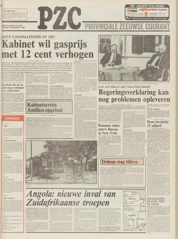 Provinciale Zeeuwse Courant 1981-09-04
