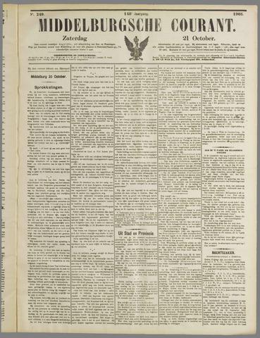 Middelburgsche Courant 1905-10-21