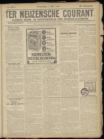 Ter Neuzensche Courant. Algemeen Nieuws- en Advertentieblad voor Zeeuwsch-Vlaanderen / Neuzensche Courant ... (idem) / (Algemeen) nieuws en advertentieblad voor Zeeuwsch-Vlaanderen 1929-05-29