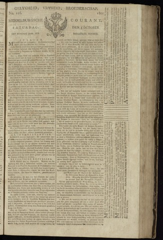 Middelburgsche Courant 1801-10-03