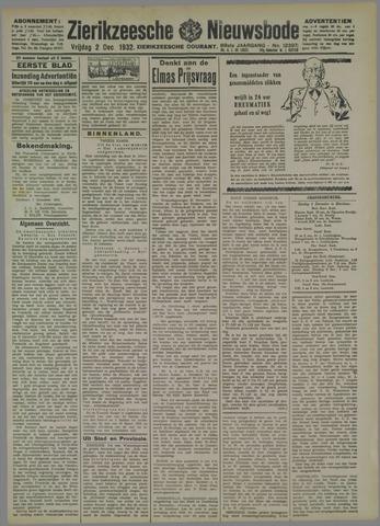 Zierikzeesche Nieuwsbode 1932-12-02