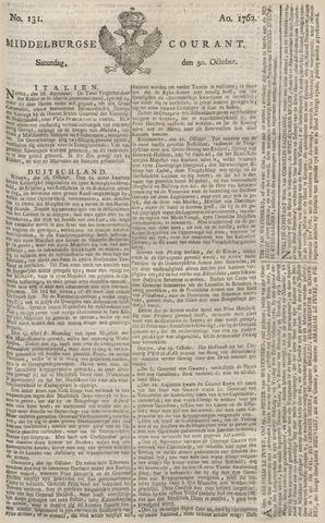 Middelburgsche Courant 1762-10-30