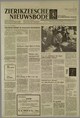 Zierikzeesche Nieuwsbode 1963-11-01