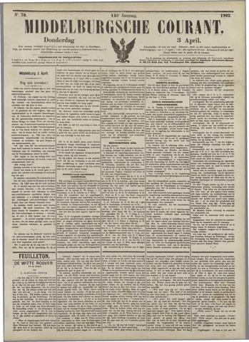 Middelburgsche Courant 1902-04-03