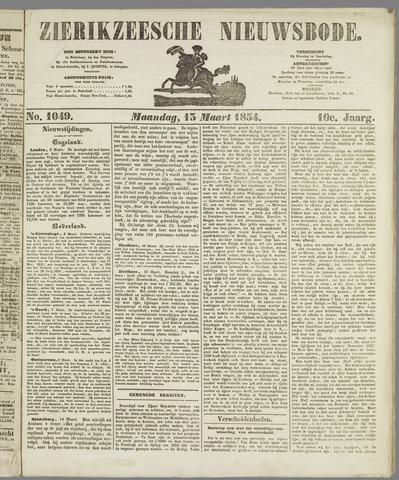 Zierikzeesche Nieuwsbode 1854-03-13
