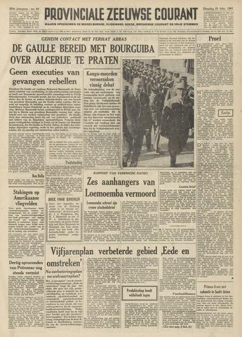 Provinciale Zeeuwse Courant 1961-02-21
