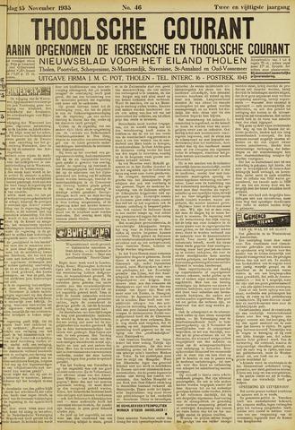 Ierseksche en Thoolsche Courant 1935-11-15