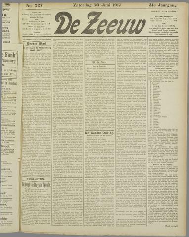 De Zeeuw. Christelijk-historisch nieuwsblad voor Zeeland 1917-06-30