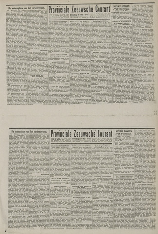 Provinciale Zeeuwse Courant 1945-05-22