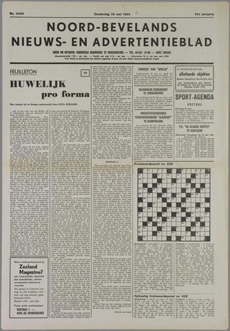 Noord-Bevelands Nieuws- en advertentieblad 1983-05-26