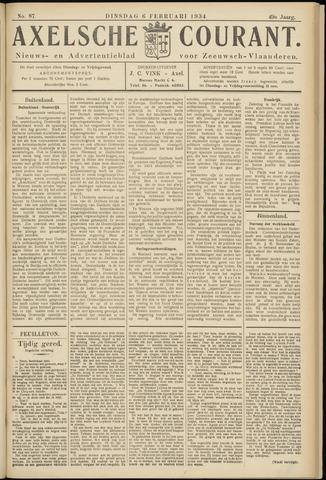 Axelsche Courant 1934-02-06