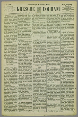 Goessche Courant 1917-12-06